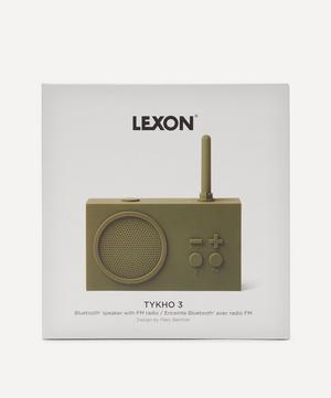 Tykho 3 Rubber Radio and Bluetooth Speaker