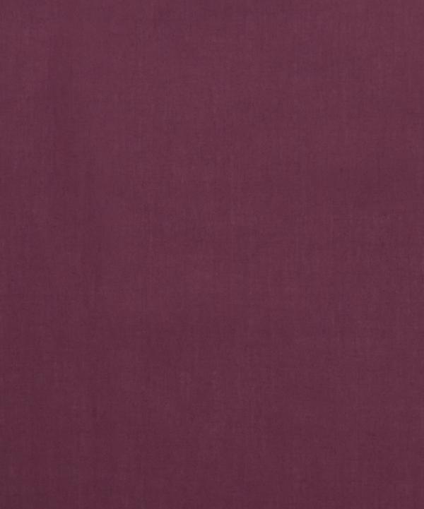 Liberty Fabrics - Aubergine Plain Tana Lawn™ Cotton
