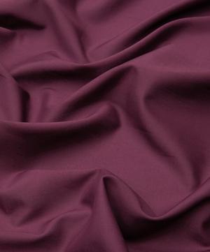 Aubergine Plain Tana Lawn™ Cotton