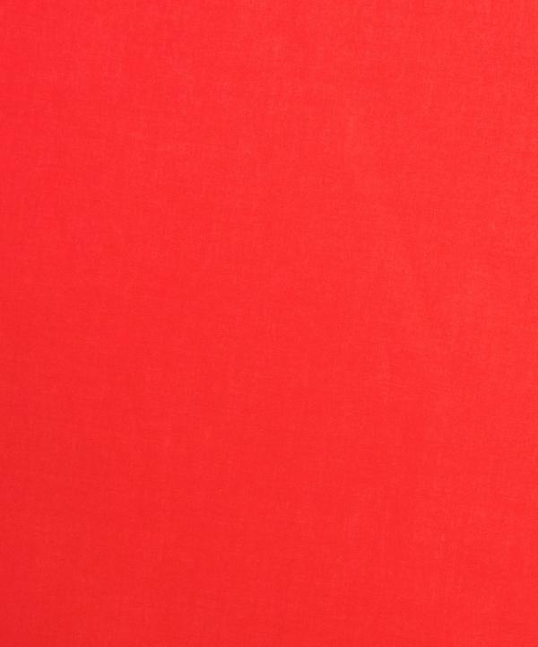 Liberty Fabrics - Poppy Red Plain Tana Lawn™ Cotton