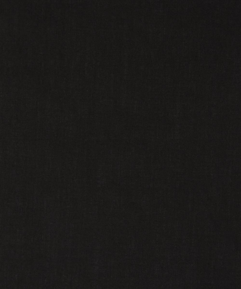 Liberty Fabrics - Black Plain Tana Lawn™ Cotton