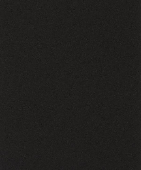 Liberty Fabrics - Coal Plain Silk Crepe de Chine