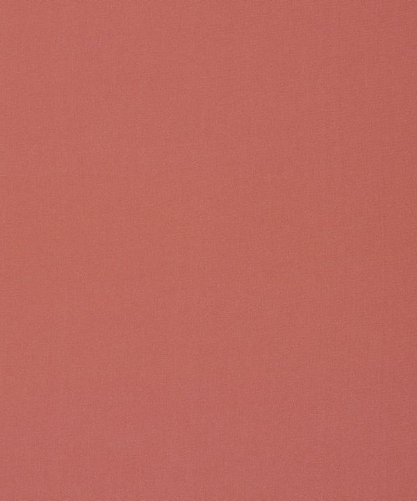 Liberty Fabrics - Coral Plain Silk Crepe de Chine