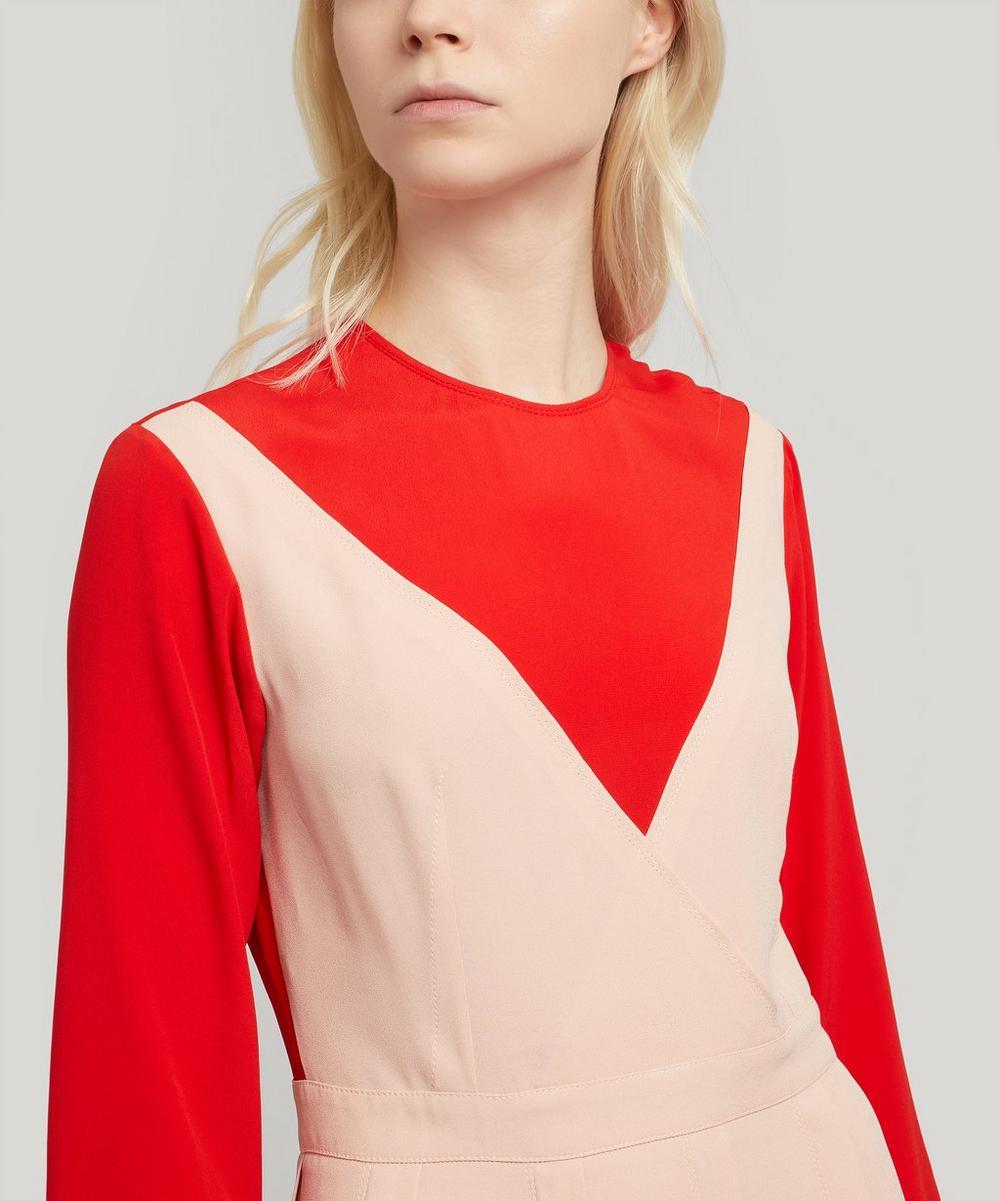 2 in 1 Flared Dress