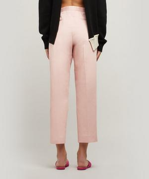 Tapered Cotton-Blend Trousers