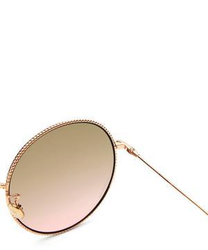 Society 2F Round Metal Sunglasses