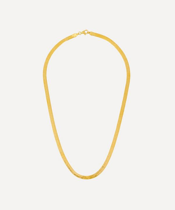 Gold-Plated Liquid Chain Necklace