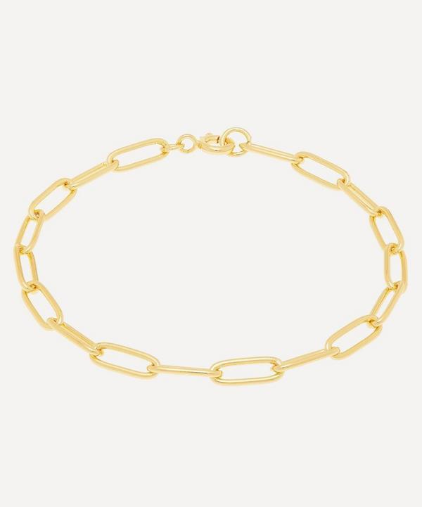 Gold-Plated Medium Chain Bracelet