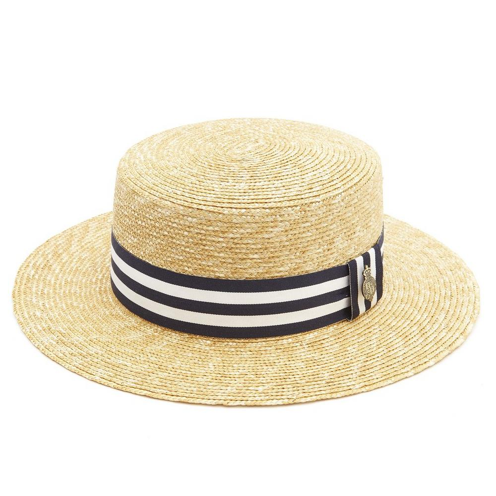 Christys' - Cambridge Boater Hat