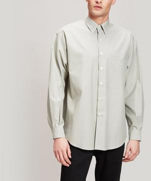 Washed Cotton Twill Shirt