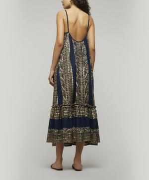 Low Back Embroidered Gown