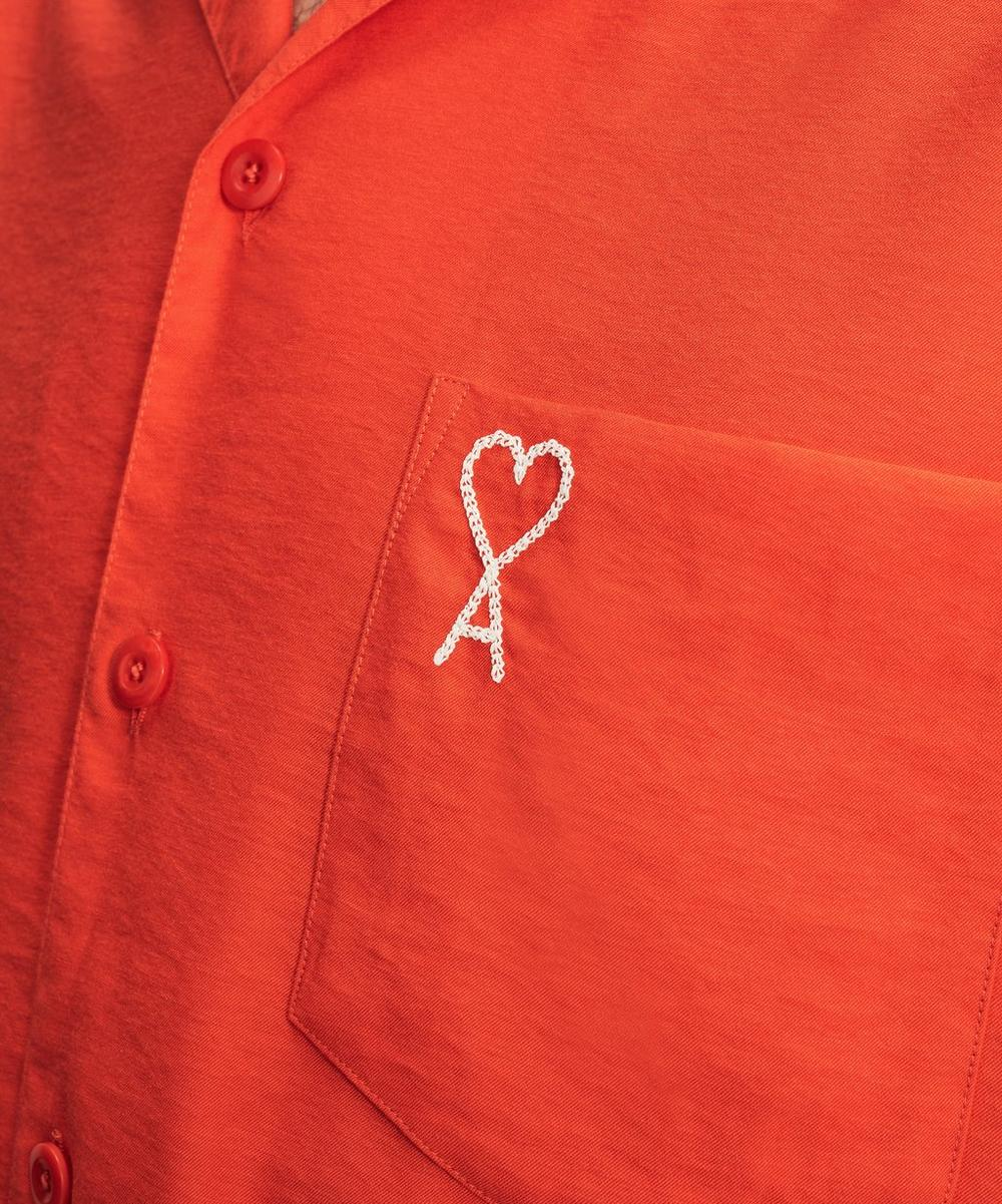 Ami De Cœur Embroidered Logo Shirt
