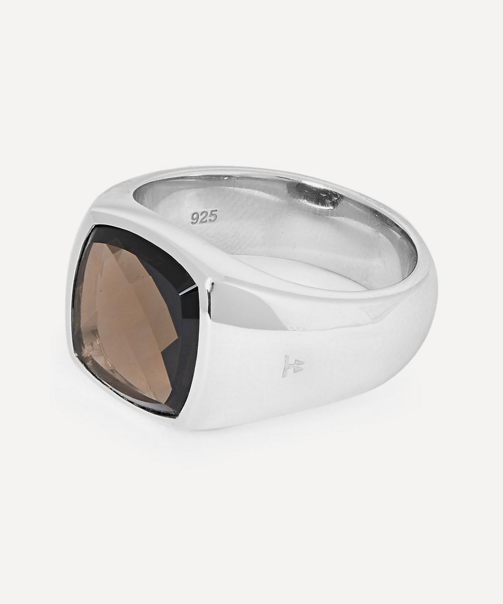 Sterling Silver Shelby Smoky Quartz Ring