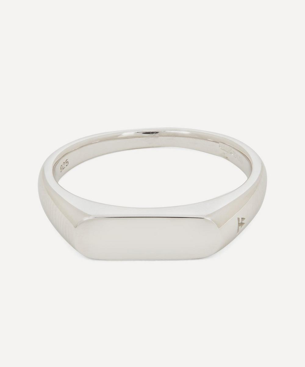 Tom Wood - Sterling Silver Knut Signet Ring