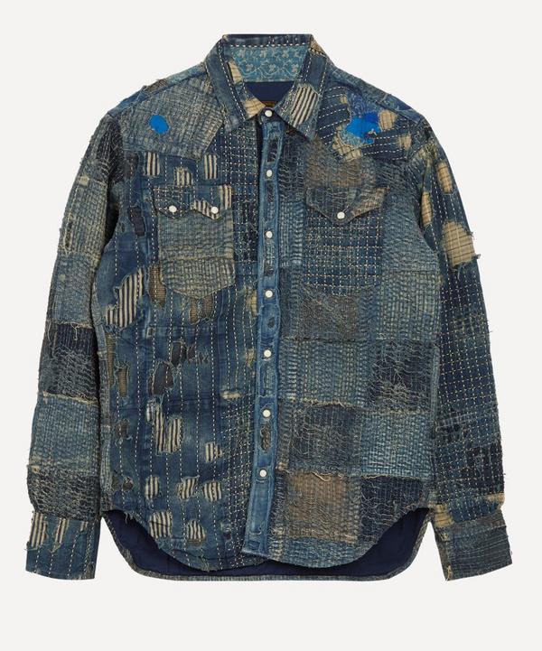 Kapital - Nora x Kaya Boro Western Shirt