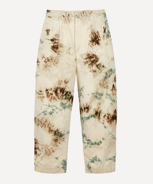 Katsuragi Nime Tie-Dye Trousers