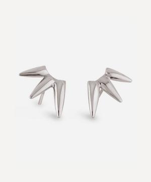 Silver Sunbeam Georgie Stud Earrings