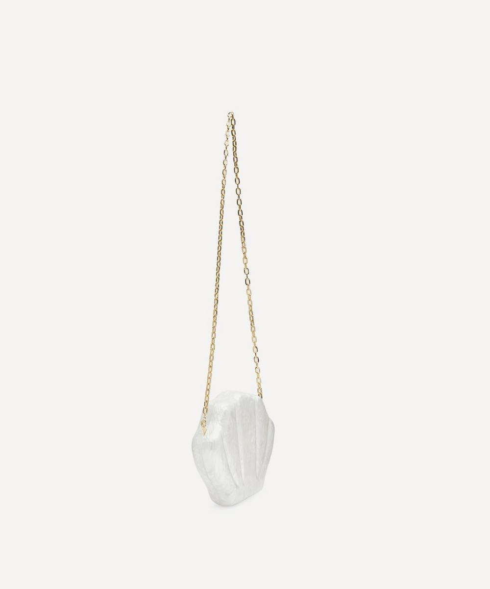 18ct Gold-Plated Resin Clam Bag