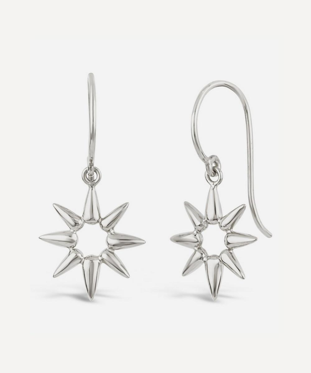 Silver Sunbeam Emma Mini Drop Earrings