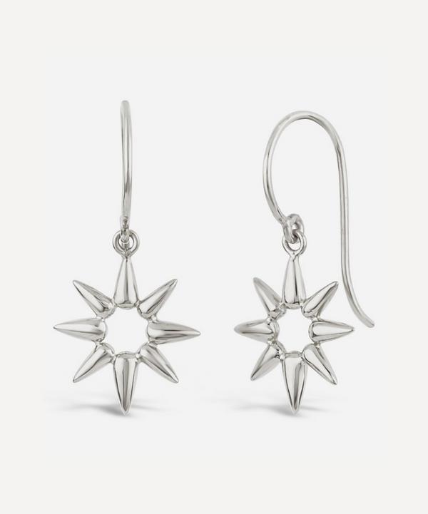 Dinny Hall - Silver Sunbeam Emma Mini Drop Earrings