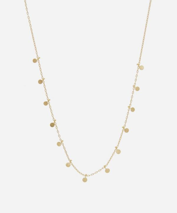 Sia Taylor - 18ct Gold Little Dots Necklace