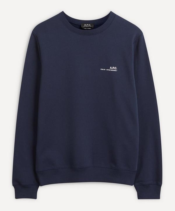 A.P.C. - Item Cotton-Fleece Sweatshirt