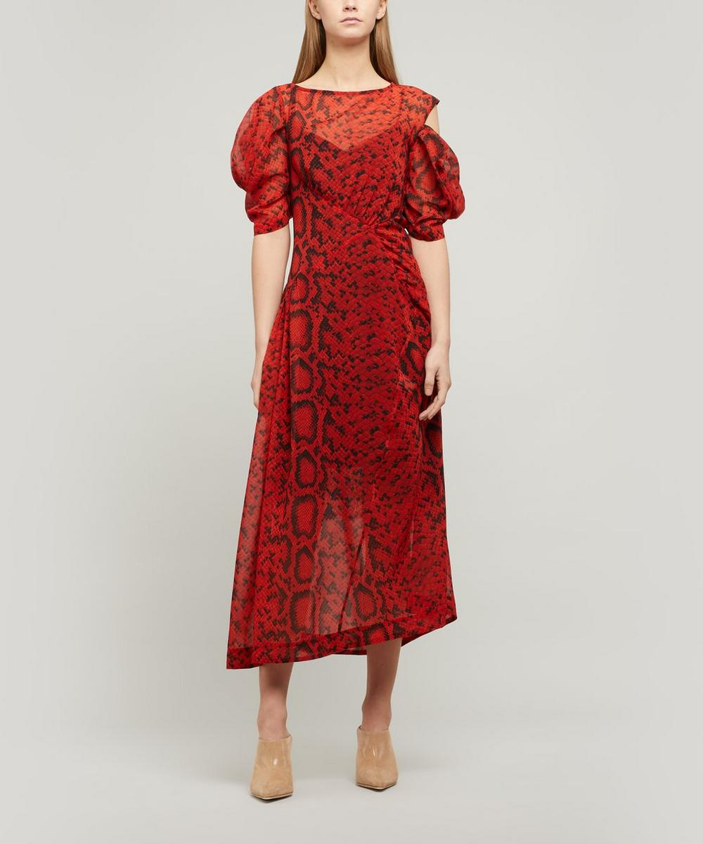 Franny Asymmetric Dress