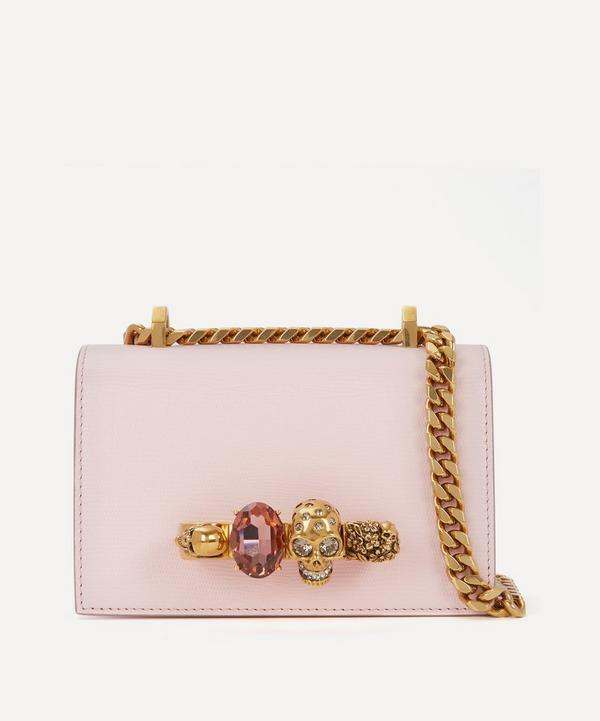 Mini Jewelled Leather Satchel