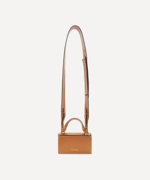 Mini Skull Lock Cross-Body Bag