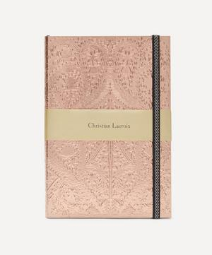 A5 Sunset Copper Embossed Paseo Notebook