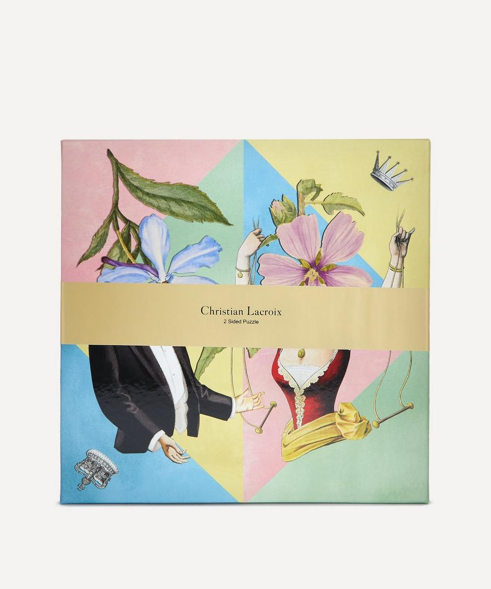 Christian Lacroix - Let's Play Double-Sided Puzzle