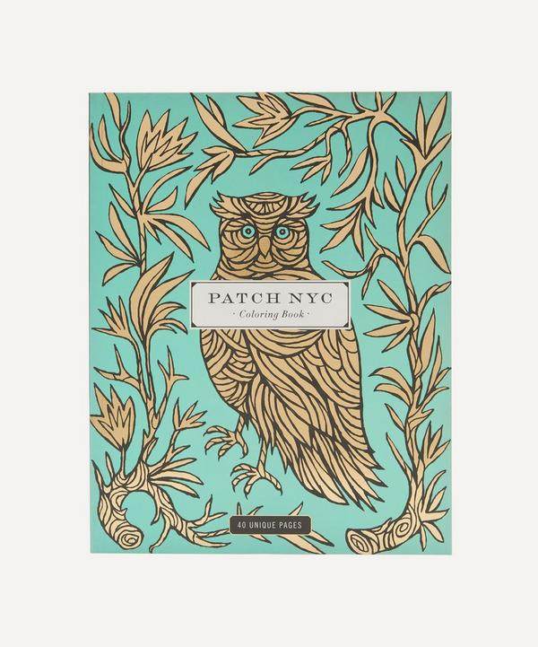 Patch NYC - Colouring Book