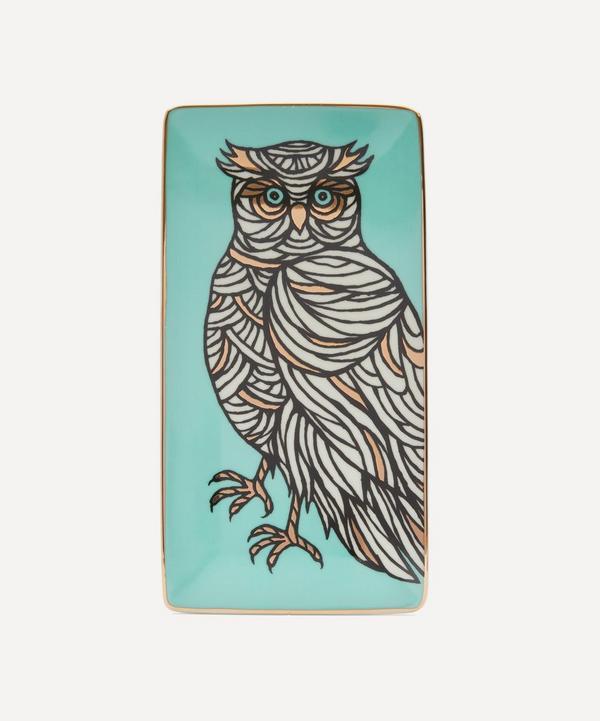 Patch NYC - Owl Porcelain Rectangular Tray