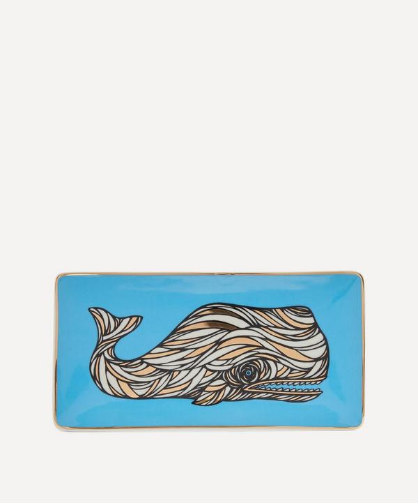 Patch NYC - Whale Porcelain Rectangular Tray