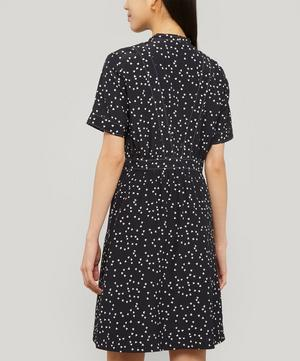 Camille Silk Heart Print Dress