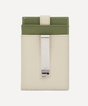 Kennedy Leather Money Clip Cardholder