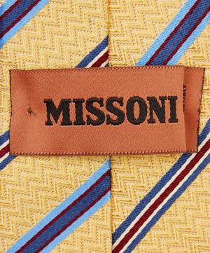 Multi Stripe Zig-Zag Tie