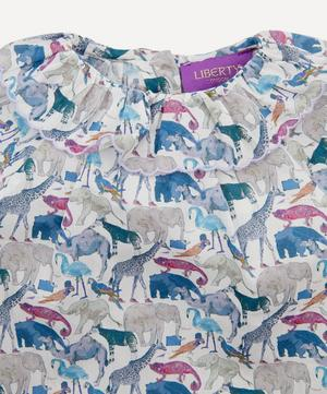 Queue for the Zoo Ruffle Blouse 3 Months-3 Years