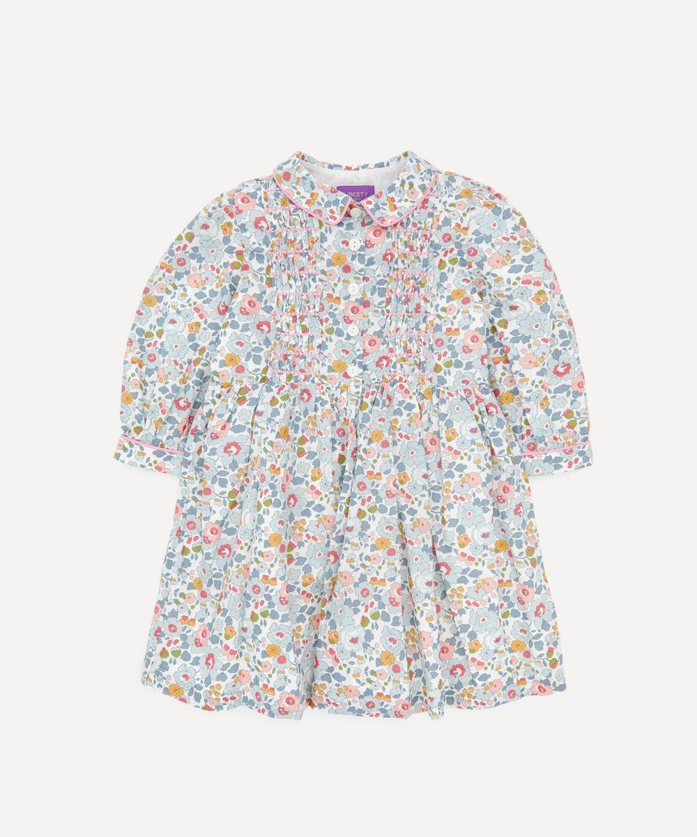 Liberty - Betsy Long Sleeved Shirt Dress 2-10 Years