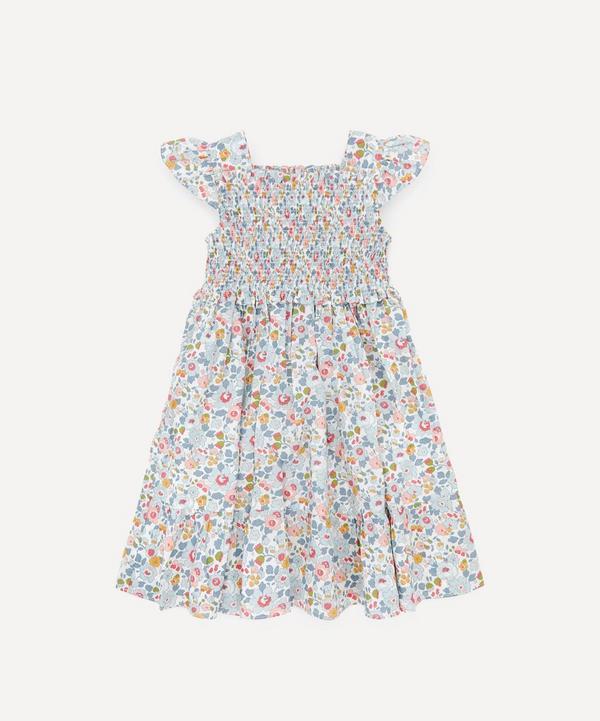 Liberty - Betsy Ruched Ruffle Dress 2-10 Years