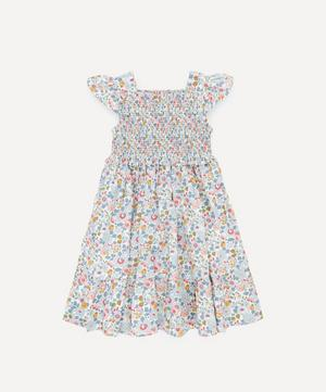 Betsy Ruched Ruffle Dress 2-10 Years