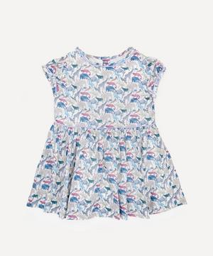 Queue For The Zoo Short Sleeved Dress 2-10 Years