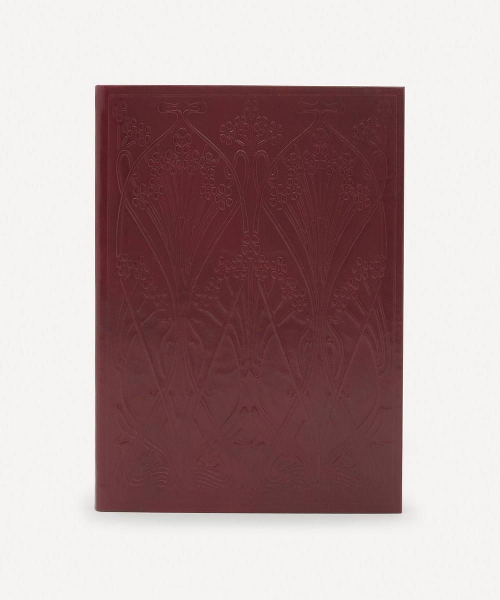 Liberty - Leather Ianthe Large Notebook