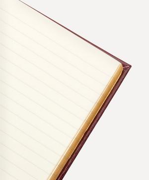 Leather Ianthe Medium Notebook