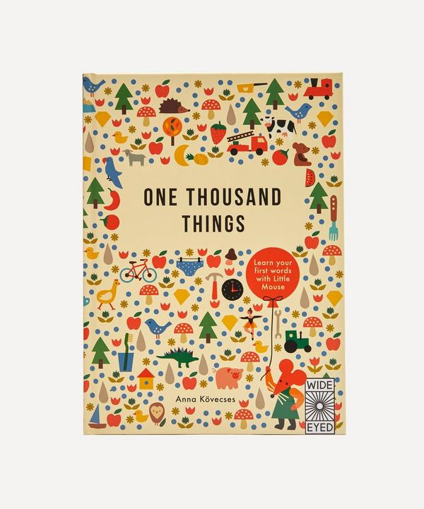 Bookspeed - One Thousand Things