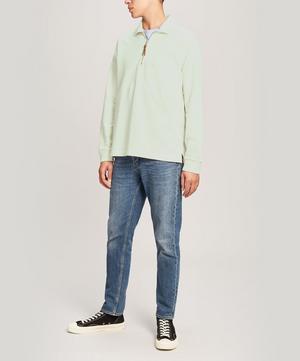 Half-Zip Pocket Sweatshirt