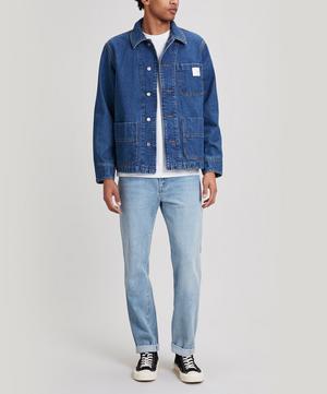 x Carhartt Talk Three Pocket Denim Workwear Shirt