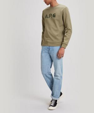 x Carhartt Ice Logo Sweater