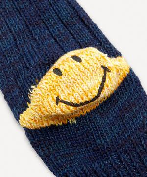 Smiley Cotton and Hemp-Blend Socks