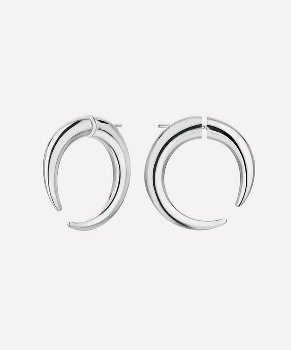 Shaun Leane - Silver Quill Large Hoop Earrings